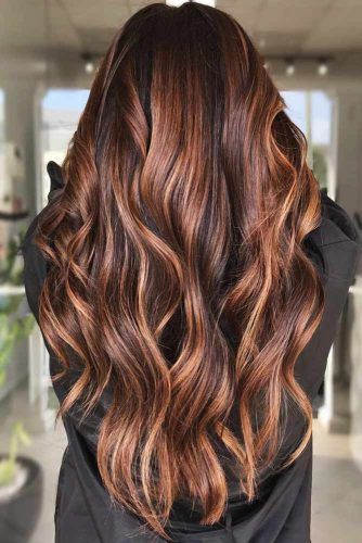 Warm & Sultry #highlights #brunette