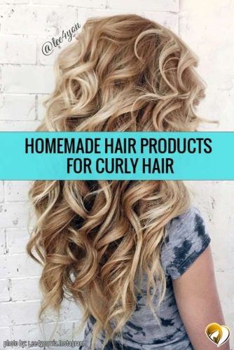 DIY Homemade Hair Products for Curly Hair
