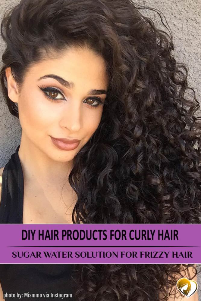 DIY Hair Products for Curly Hair