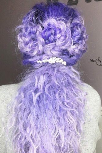 Braided Purple Hair picture 3