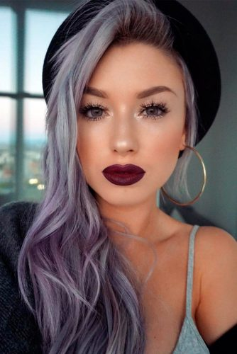 Sexy Silver Purple Hair picture 1