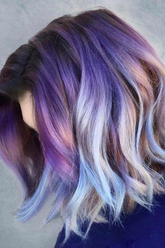 Light and Dark Purple Hair Ideas picture3