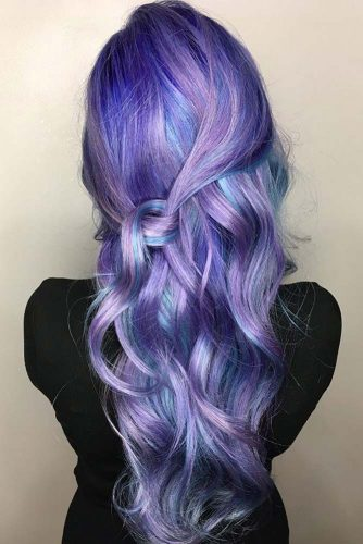 Light and Dark Purple Hair Ideas picture2