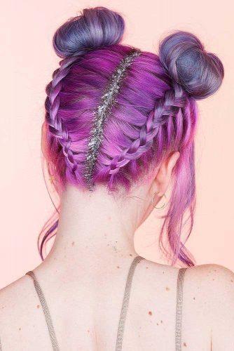 Fantastic Ombre Purple Hair picture 1