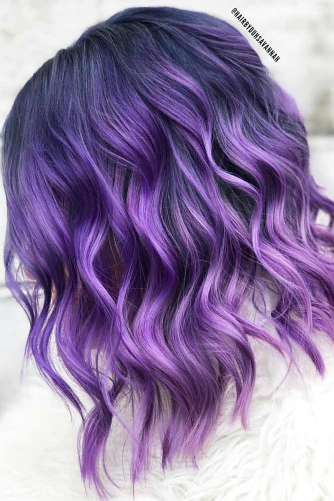 36 Light Purple Hair Tones That Will