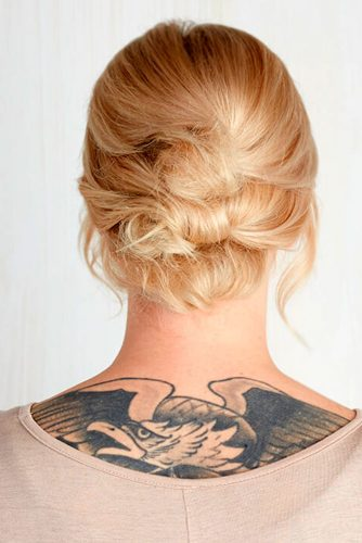 Romantic Short Hair Updos picture 1