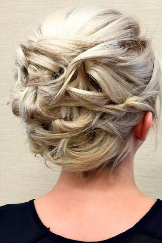Intricate-looking Short Hair Updos picture 2