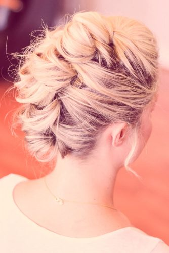 Intricate-looking Short Hair Updos picture 3