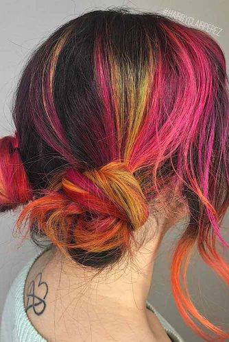 Color Game on Short Updos picture 2