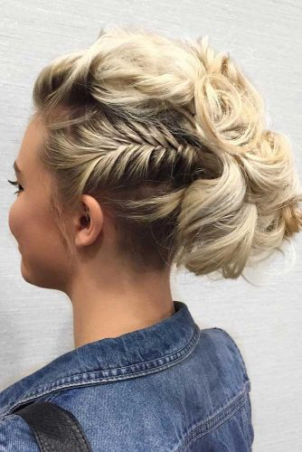 Gorgeous Short Hair Updos picture 2