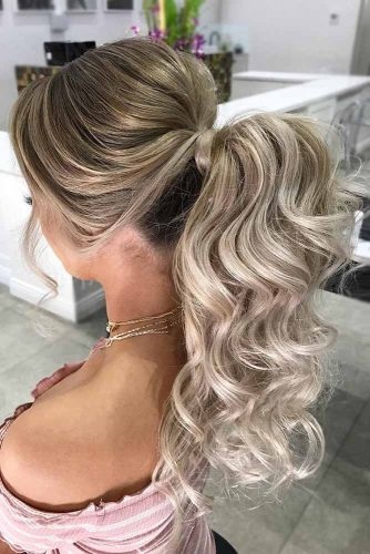 Ponytail Hairstyles Best Choice for a Party picture3