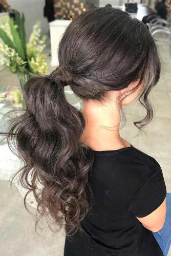 Ponytail Hairstyles Best Choice for a Party picture2
