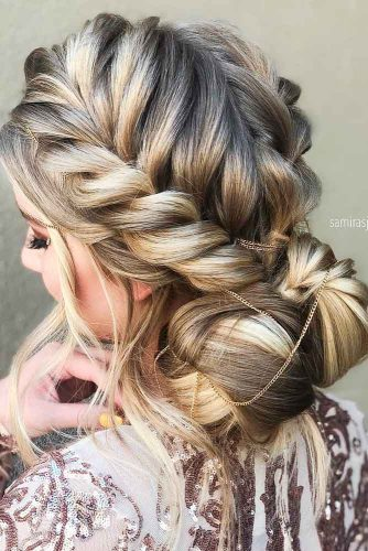 Braided Crown for Your Prom Night picture1