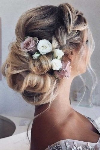 Mind-Blowing French Crown Braids Updos #updo #braids #promhairstyles