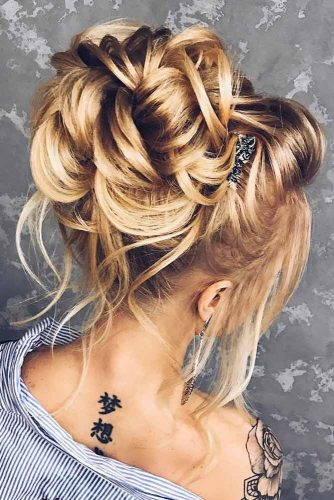 Romantic and Lovely Updos Hairstyles picture 1