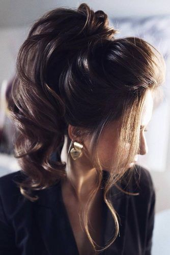 Gorgeous Long Ponytail Hairstyles #updo #ponytails