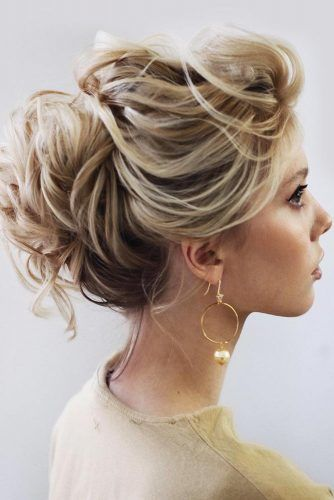 Exquisite Wrapped Messy Updo Hairstyles For Prom #updo #promhairstyles
