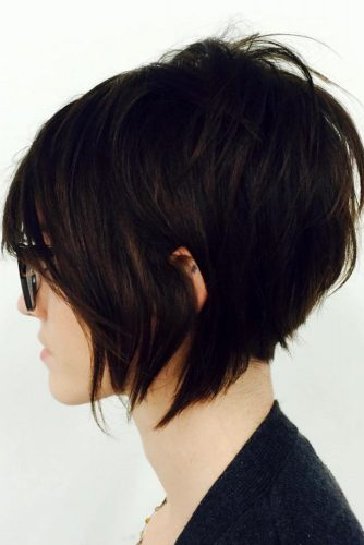 Smooth Layered Bob Hairstyles