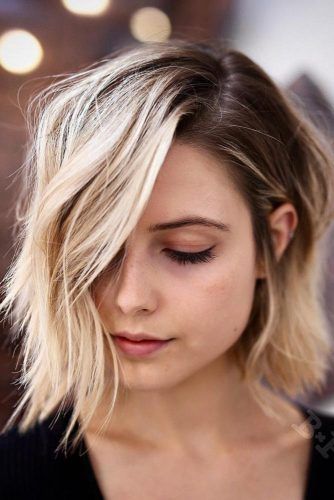 Rocker Chic Layered Bob Hairstyles