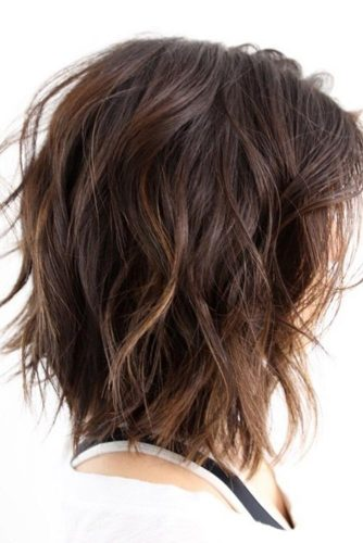 Wavy Layered Bob Hairstyles