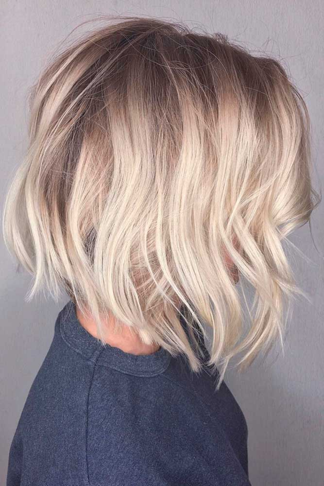 Multi-Dimensional Layered Bob Hairstyles