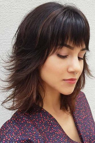 Long Bob With Flipped Ends #layeredbobhairstyles #layeredbob #hairstyles #haircuts