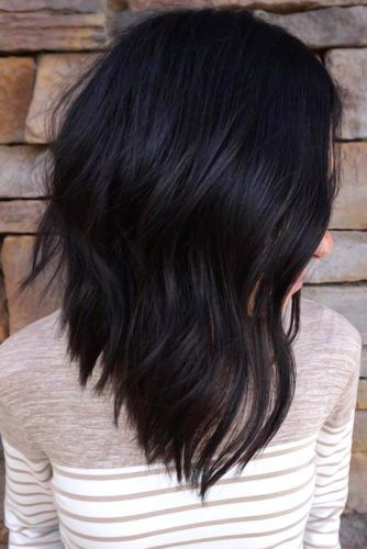 Beachy Waves Styling Black #mediumhair