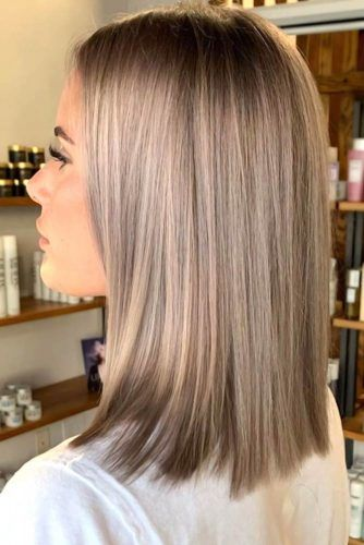 Balayage For Shoulder Length Hair #mediumhair