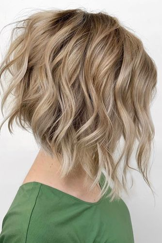 Light Curls Bob Haircuts