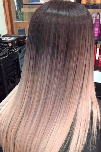 Blonde and Brown Color Ideas for a Medium Length Hair picture 1