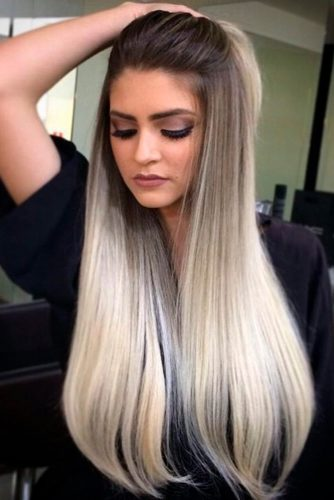Brown and Blonde Color Decision on Long Hair picture 1