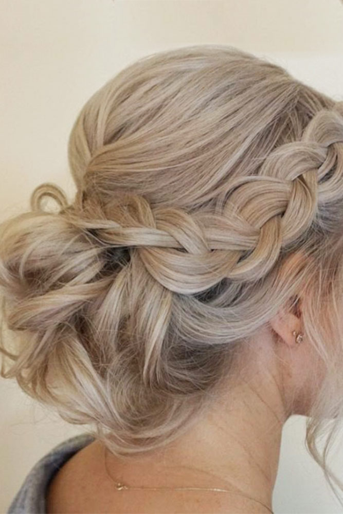 Amazing Bridesmaid Messy Updos picture 2