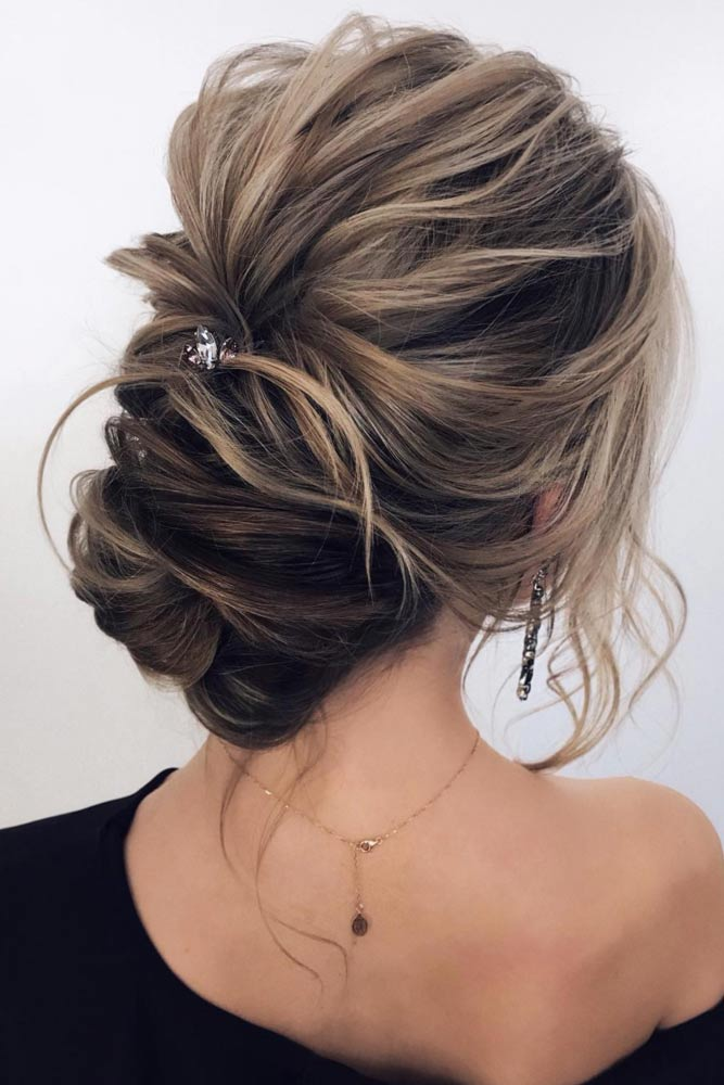 Amazing Bridesmaid Messy Updos picture 3