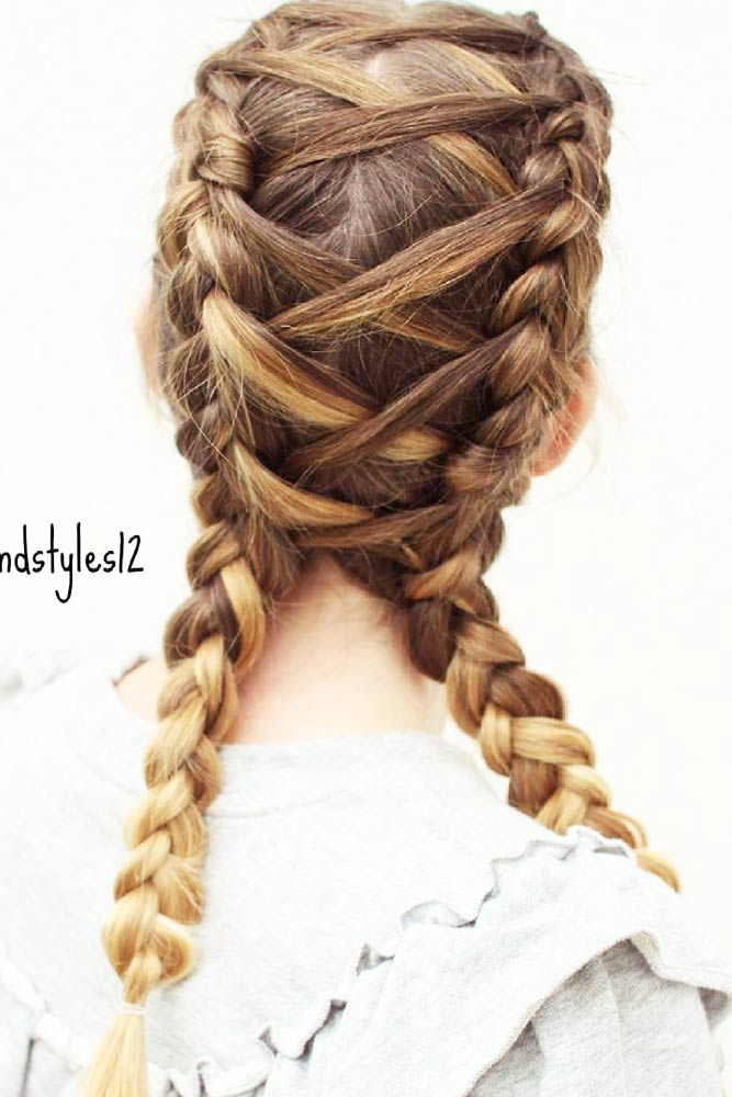 Different Types of Double Corset Braids picture2
