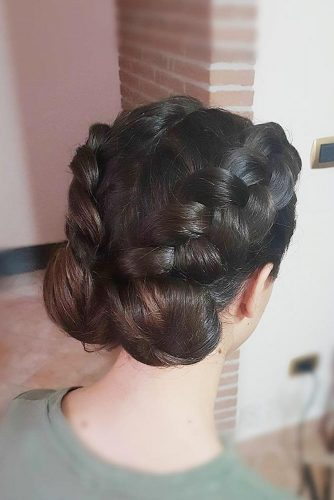 Low Buns with Double Dutch Braids picture 1