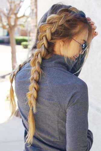 Gym-Friendly Double Dutch Braids picture 2