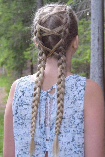Double Corset Braids picture3