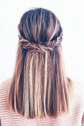 Lovely Hairstyles for Medium Length Hair picture 3