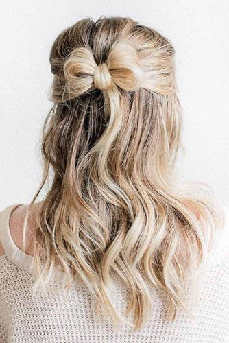 Beautiful Messy Style for Medium Length picture1