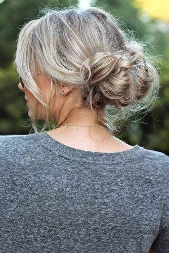 Easy Updos for Medium Hair picture 3