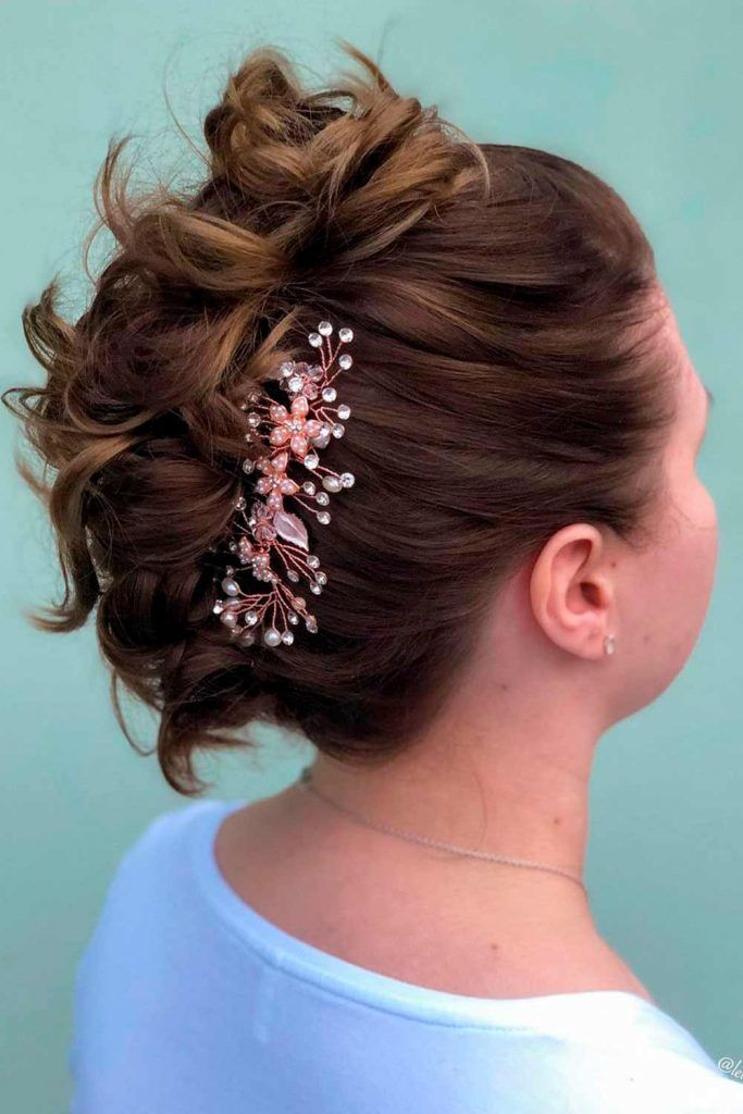Pretty Messy Updo