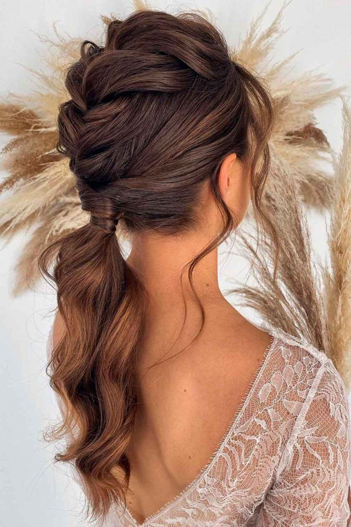 Braided Mohawk Ponytail