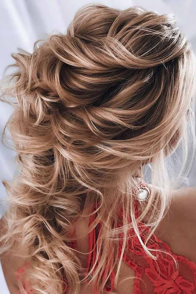 Big Voluminous Curls #formalhairstyles #longhair #hairstyles