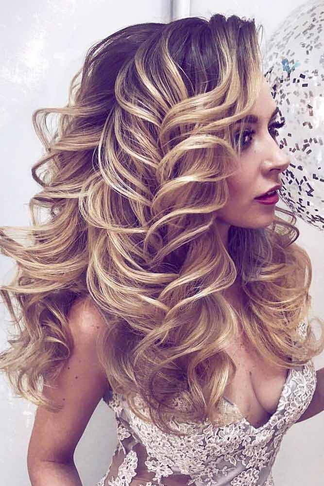 Curly Hairstyles for Long Hair picture3