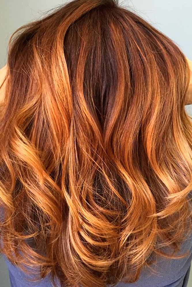 Balayage Highlights Brown Ombre picture 1