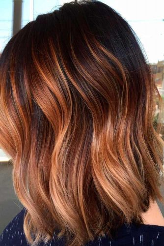 Balayage Highlights Brown Ombre picture 2