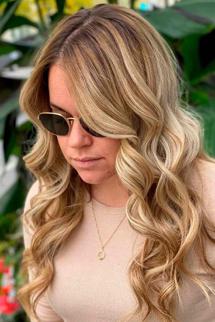 Balayage Highlights Brown Ombre