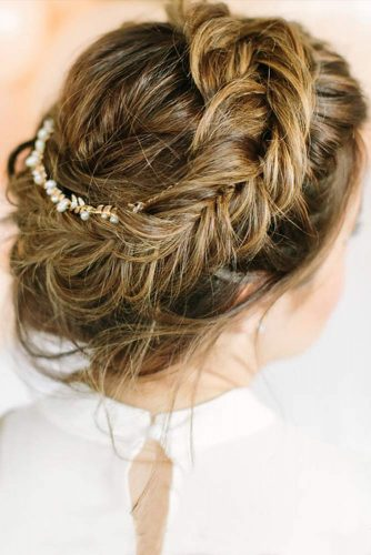Romantic Crown Braid Hairstyle for a Date picture 2