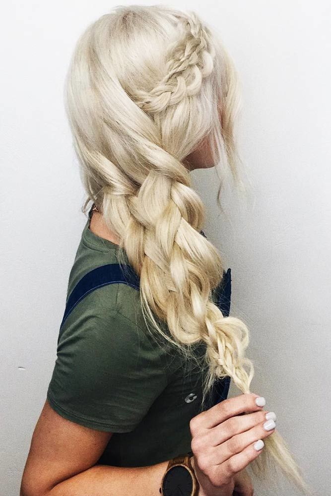 Voluminous Double Braid #crownbraids #braids