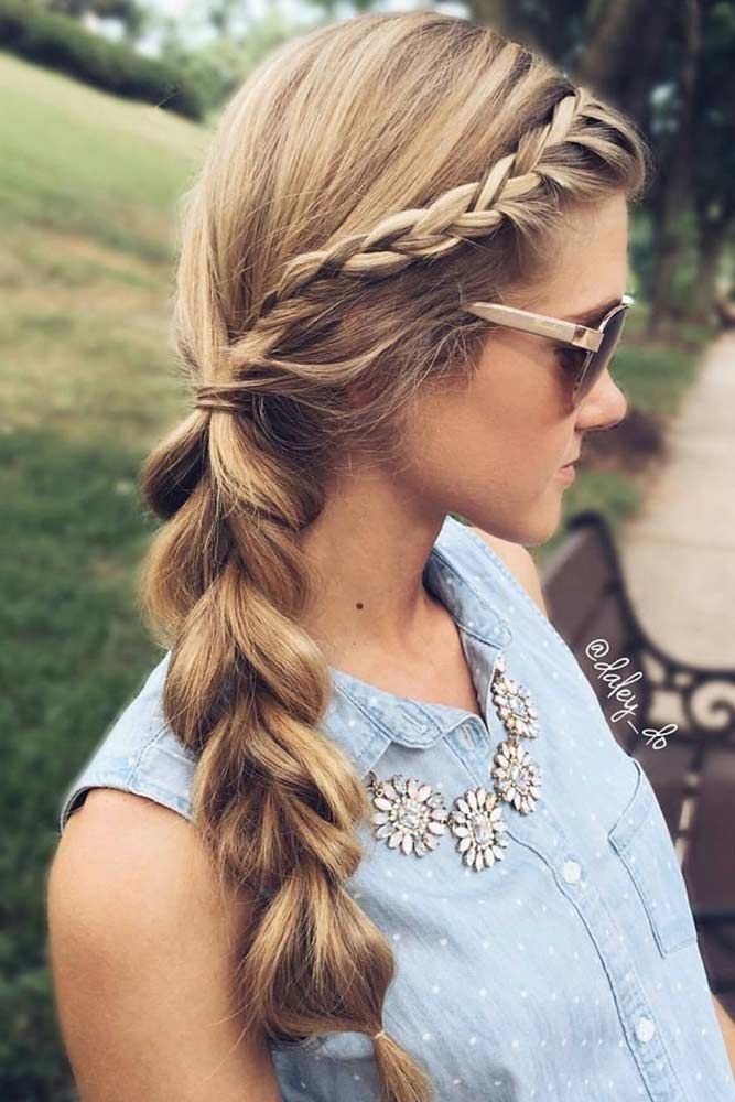 Play With Volume #crownbraids #braids
